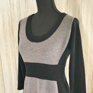 Maggy London Color Block Sweater Dress